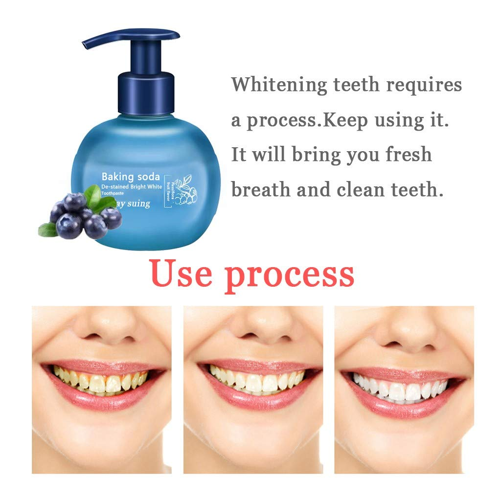 Amazon com: Kiorc Stain Removal Whitening Toothpaste Fight