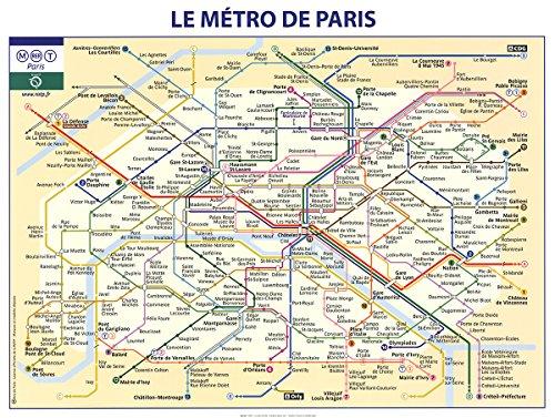 Rare Posters RATP-Le Metro De Paris-Poster