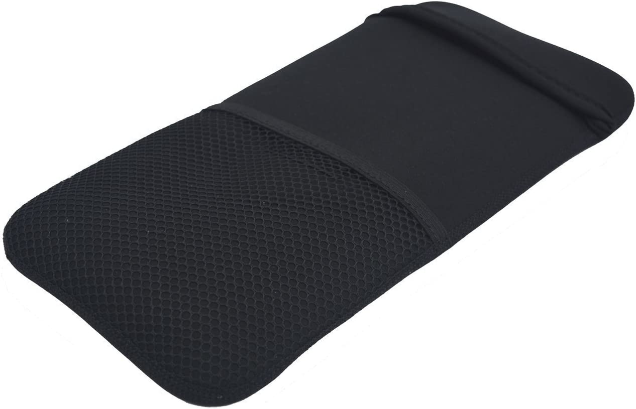 Color Negro Suave Nueva Neopreno Estuche de la Manga de Protección Portátil Cubierta de la Bolsa Bolsas para Logitech Easy-Switch K811 Teclado Bluetooth / K810 Iluminado Teclado Inalámbrico Bluetooth