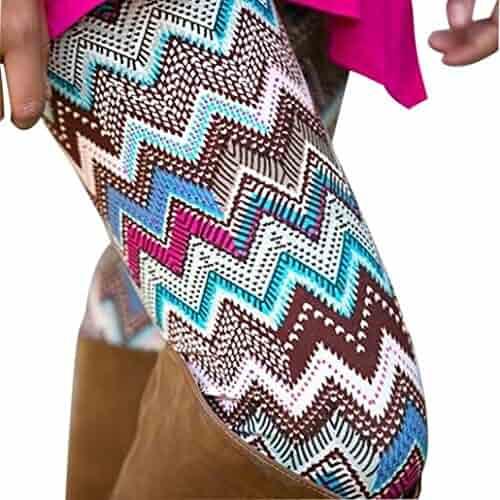 17315d7a7dd177 Perman Women Lady Skinny Geometric Print Stretchy Jegging Pants Slim  Leggings