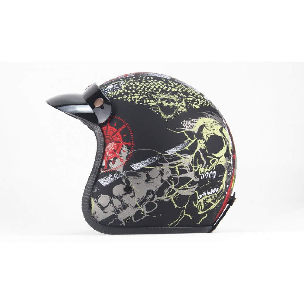 LOLIVEVE Four Seasons Retro Helmet Helmet Helmet Personalized Retro Harley Helmet Motorcycle Electric Locomotive 3 4 Half Helmet Skeleton Dragon Map B07GXMTSLQ Parent | Nuovo  | Consegna veloce  | Primi Clienti  | diversità imballaggio  | Di Alta Qualità E Basso Ov 1c4d47