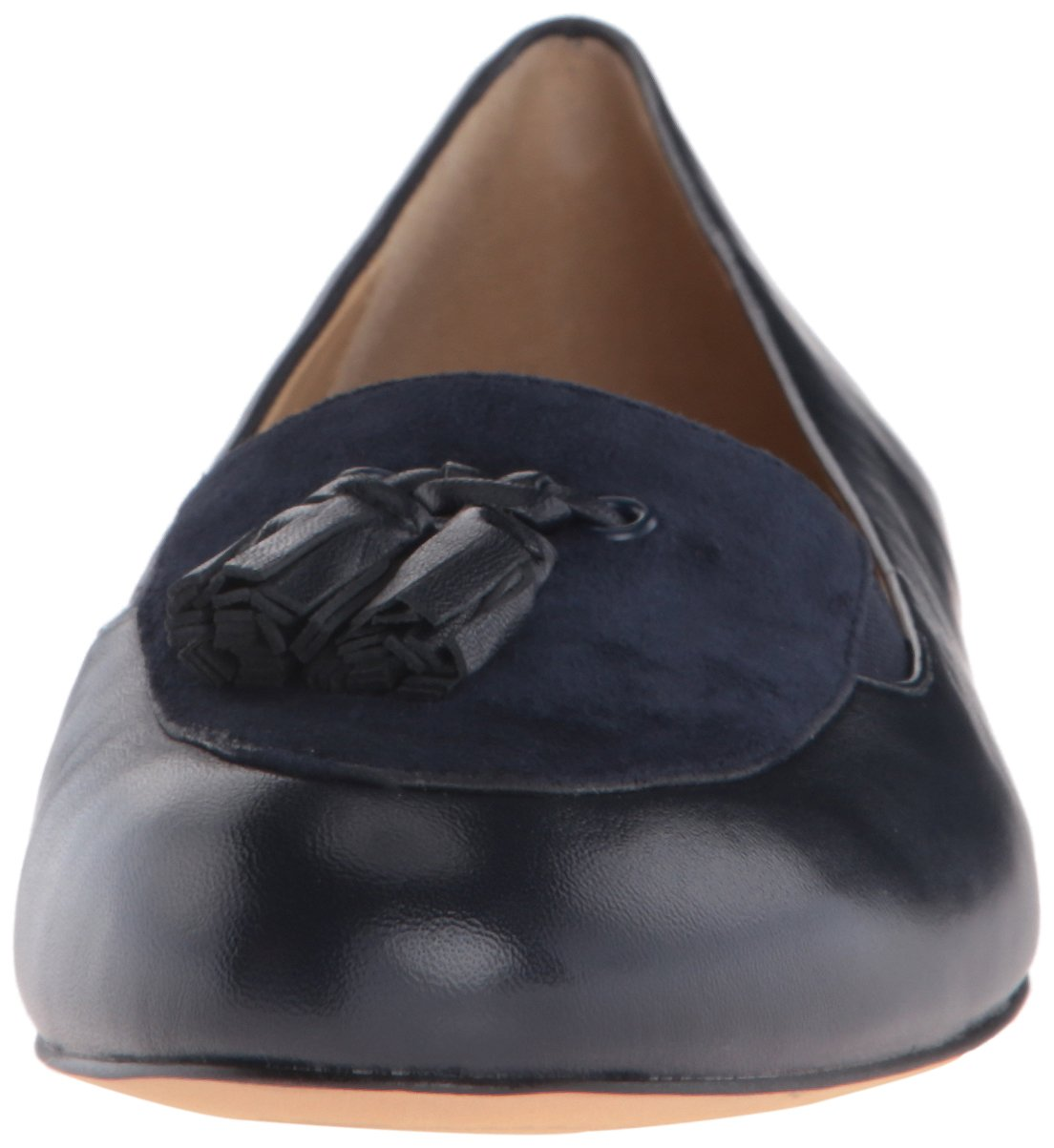 Trotters Women's Caroline Ballet Flat B019R1ZI3Q 11 N US Navy Suede
