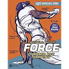 FORCE: Dynamic Life Drawing: 10th Anniversary Edition from CRC Press