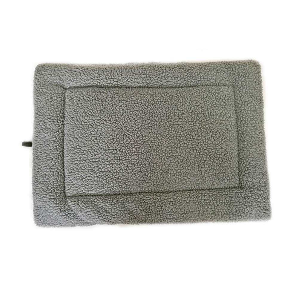 Grey 43''X27'' Grey 43''X27'' ONCEFIRST Dogs Cushions Crate Pad Mats Soft Furry Pet Bed Grey 43''X27''