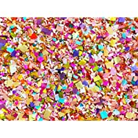 Bright Floral Multicolored Confetti Biodegradable Wedding Confetti Mix Party Decorations Decor Throwing Send Off (50g/2oz)
