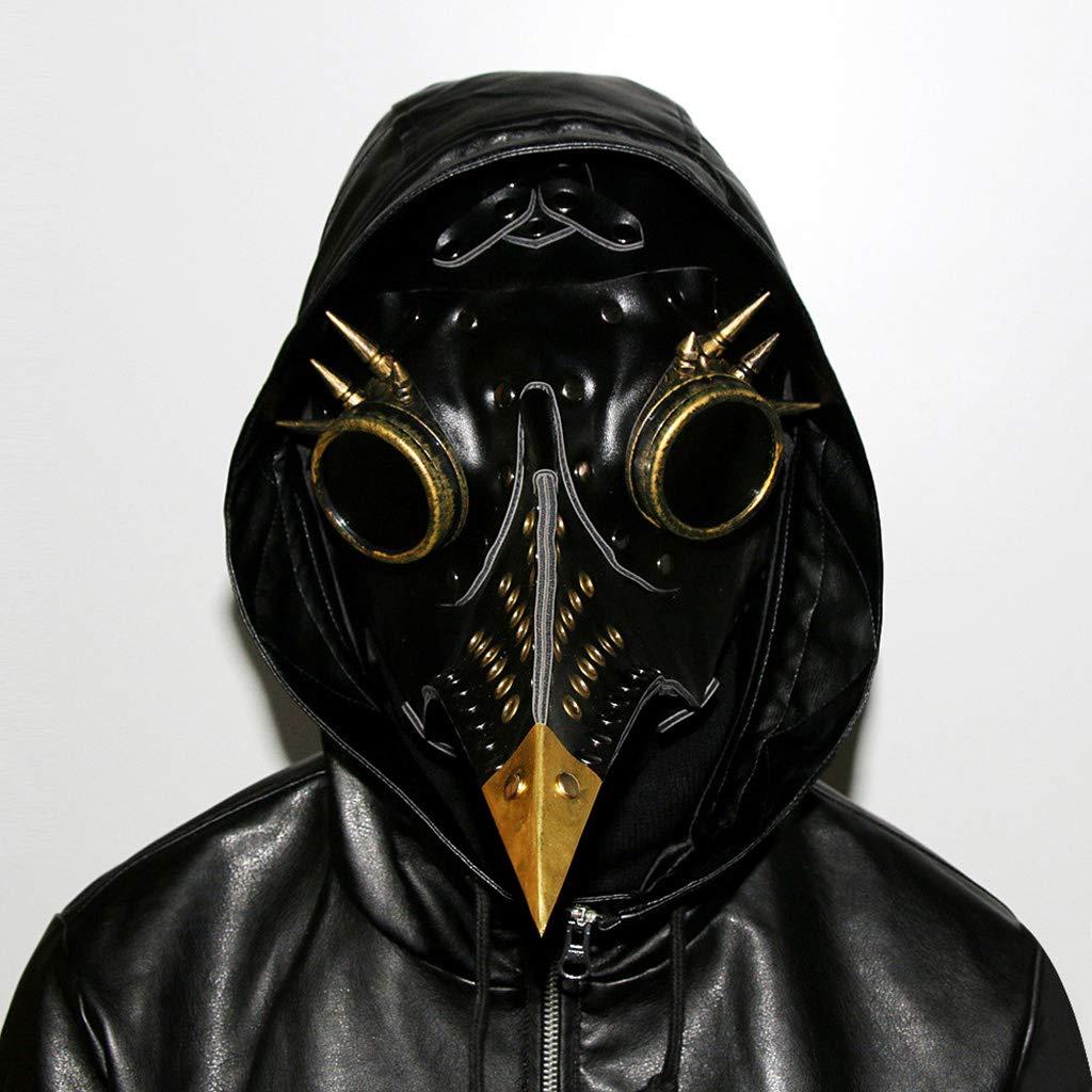 Reducción de precio LFF.FF Accesorios De Halloween Regalo Vintage PU Steampunk Máscara De Pico De Plaga 33  15  21 Cm