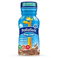 PediaSure Grow & Gain Kids' Nutritional Shake, with Protein, DHA, and Vitamins &...