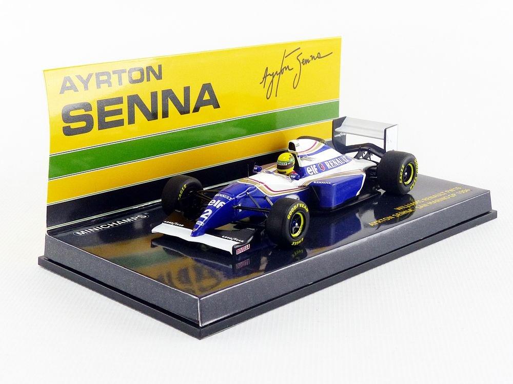 547940302 Minichamps/ Blu//Bianco//Oro /Modellino Auto Williams FW16/San Marino GP 1994/Scala 1//43
