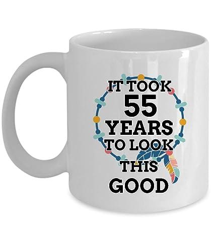 Amazon 55 Birthday Mug