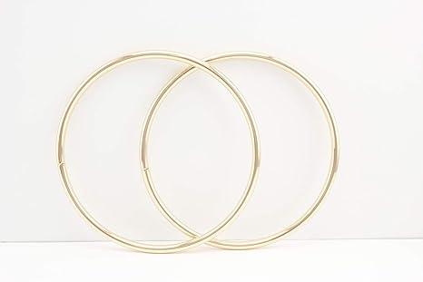 Asas para bolso de mano de hierro circulares y redondas de 15 cm, asas de bolso de mano para hacer bolsas, hacer monederos, manijas de reemplazo, ...