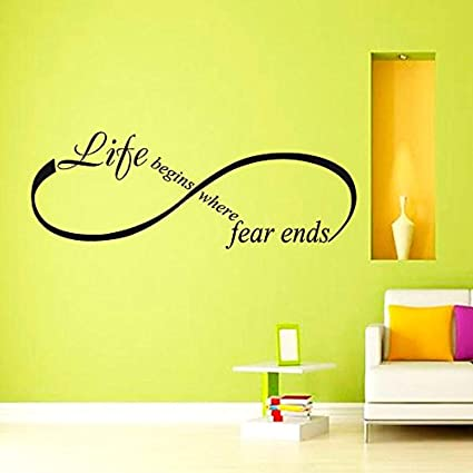 Amazon Com Quotes Life Begins Where Fear Ends Osho Quote