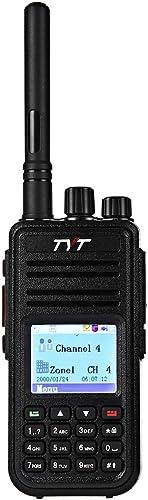 Joyhero TYT Tytera MD-380 DMR Digital Radio UHF 400 – 480MHz Upto 1000 Channels Walkie Talkies with Colorful LCD Display Two-way Radio Compatible with Mototrbo