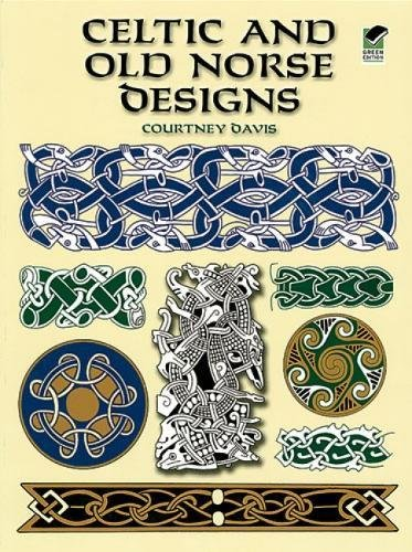 Celtic and Old Norse Designs (Dover Pictorial Archive) (Coloring Illuminations Book)