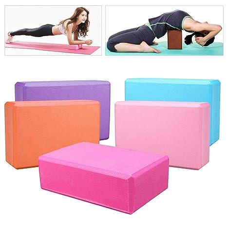KALOAD - Bloque de yoga orgánico de alta densidad de EVA ...
