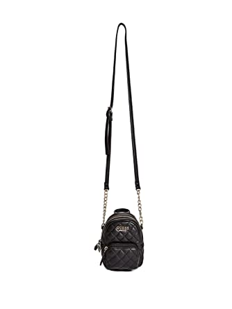 28008c42d5c1 Amazon.com  GUESS Factory Women s Evan Mini Crossbody  Clothing