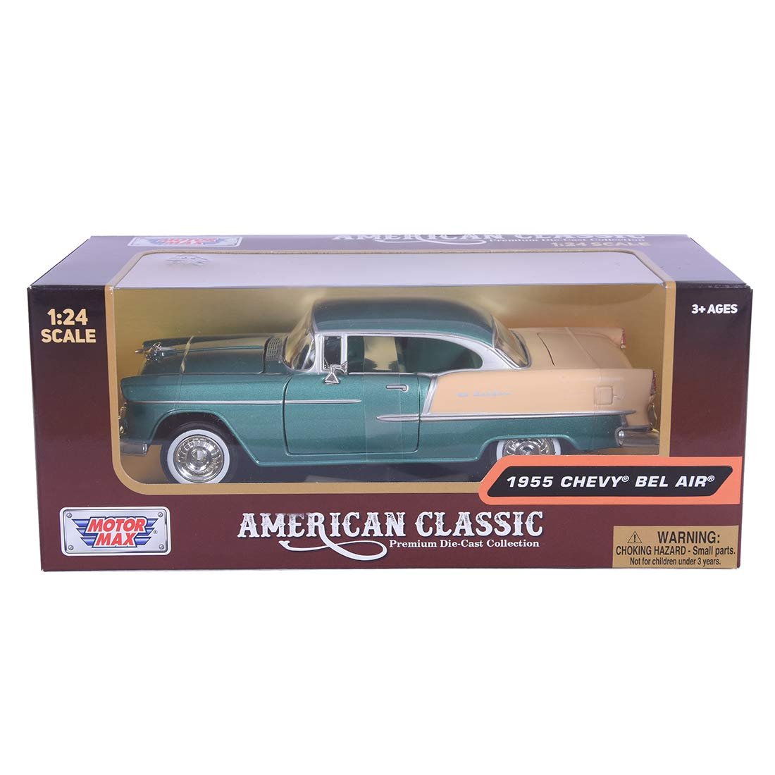 Motormax 124 1955 Chevy Bel Air Toys Games 1966 Chevrolet Rear View