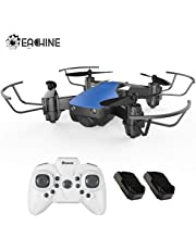 EACHINE Mini Drones for Kids and Adults, E61H Macro Drone RC Nano Quadcopter with Auto Hover for Beginners, Extra Batteries, One Key Take Off/Landing, 3D Flip,Toys for Boys and Girls
