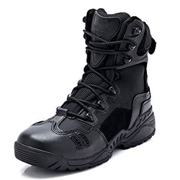 UNIQUEBELLA Combat boots Mens For Army Cadet Military Patrol ...