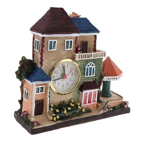 Reloj de Alarma de Villa Vintage Europeo Regalo para ...