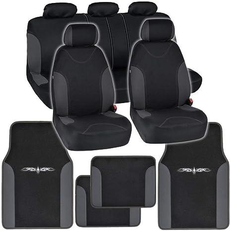 car seat protector HONDA JAZZ ALL YEARS CAR FLOOR MATS BLACK & BLUE TRIM