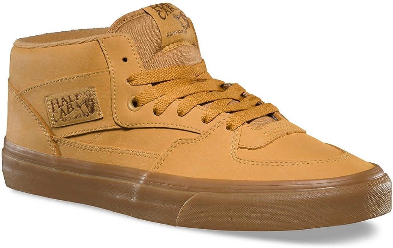 Vans Chaussures U Half Cab Vansbuck Lite Gum Mono MARRO