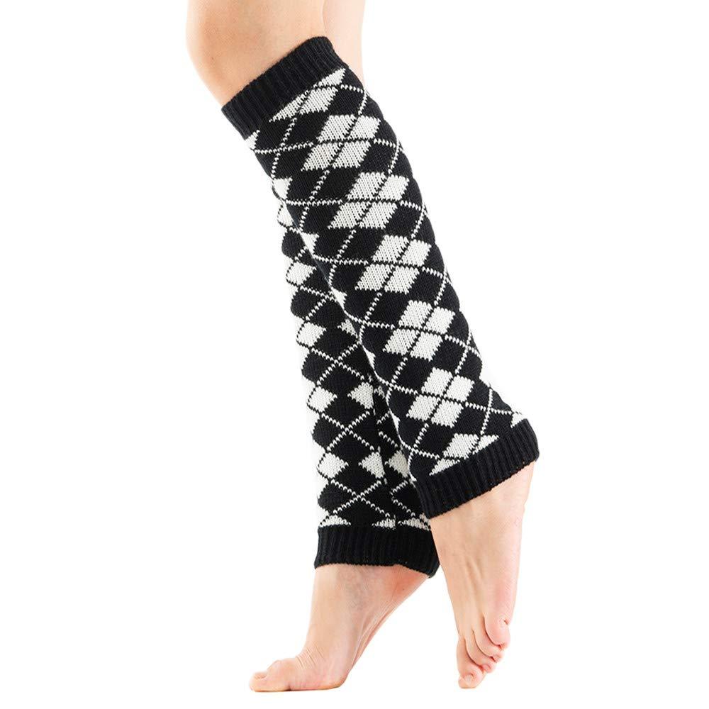 87083af6fda URIBAKE Women Knit Leg Warmers Crochet Leggings Twist Winter Thermal Slouch  Boot Soft Socks at Amazon Women s Clothing store