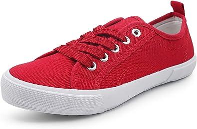Low Top Cap Toe Women Sneakers Tennis Canvas Shoes Casual Shoes for Women Flats