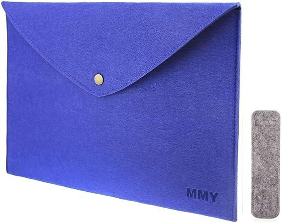 Cellphones A4 Size Felt Cloth File Folder Briefcase Handbag Document Organizer Portable File Holder Office Supply for Notebooks Pill Boxes Glasses Books