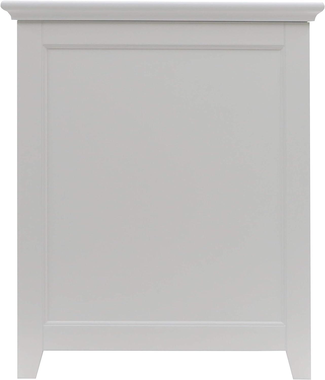 Redmon Since 1883 Shaker Style Hamper, White