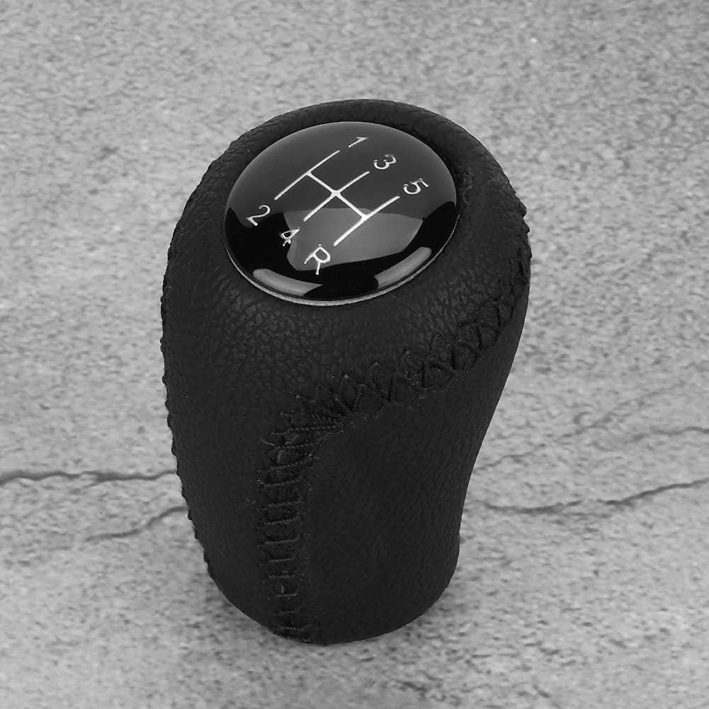 Perilla de cambio de engranaje de coche de 5 velocidades palo de cabeza esf/érica compatible con Peugeot 207 Citroen Saxo Xsara Xantia C2 C3 C4