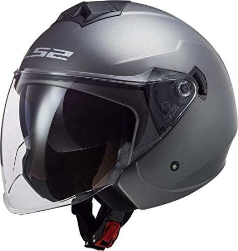 M Noir LS2 Casque moto OF573 TWISTER II SINGLE MONO NOIR
