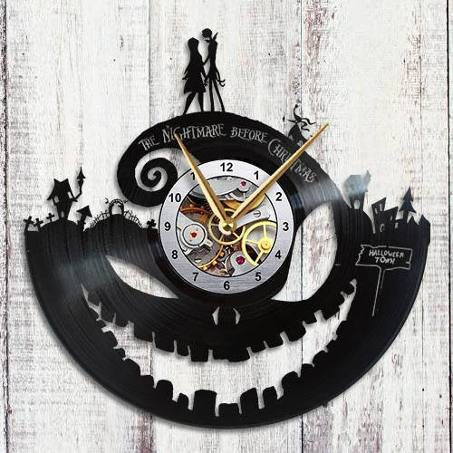 Nightmare Before Christmas Wall Clock Jack Skellington &