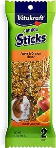 Vitakraft Guinea Pig Treat Stick - Apple And Orange - 3.5Oz