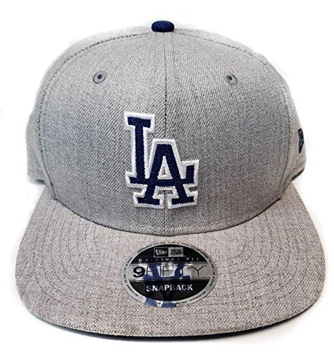 New Era Og Fits Los Angeles Dodgers Grey Blue Heather Snapba