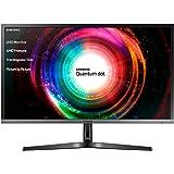 Samsung U28H750 Monitor 28'' 4K Ultra HD, 3840 x 2160, Quantum Dot, 1.07 Miliardi di Colori, 60 Hz, 1 ms, 2 HDMI, 1 Display Port, Base Semplice, Nero
