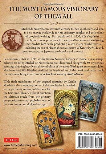 The Lost Tarot of Nostradamus Kit: Amazon in: John Matthews, Wil