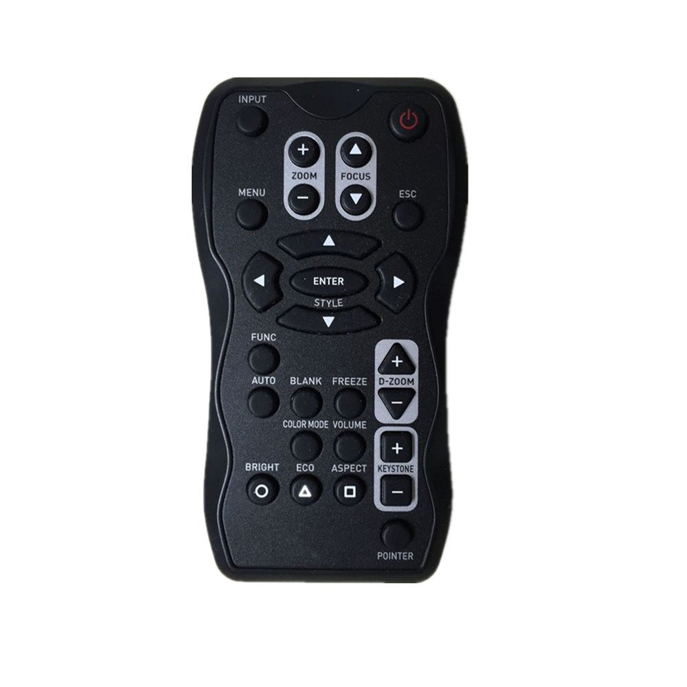 RLsales Universal Replacement Remote Control Fit for Casio XJ-A245V XJ-A145 XJ-A155V LED DLP Projector by RLsales
