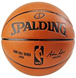 Basketballs Best Deals - Spalding NBA Replica Indoor/Outdoor Game Ball, Orange, Size 7/29.5-Inch