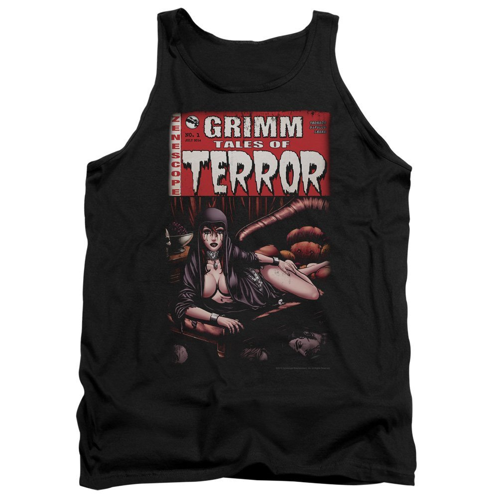 Terror Cover Adult Tank Top M Sons of Gotham Zenoscope