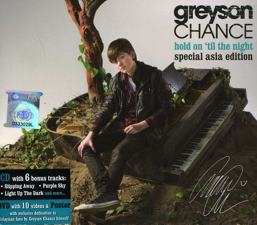 CD : Greyson Chance - Hold On Til The Night (Asia - Import, 2PC)