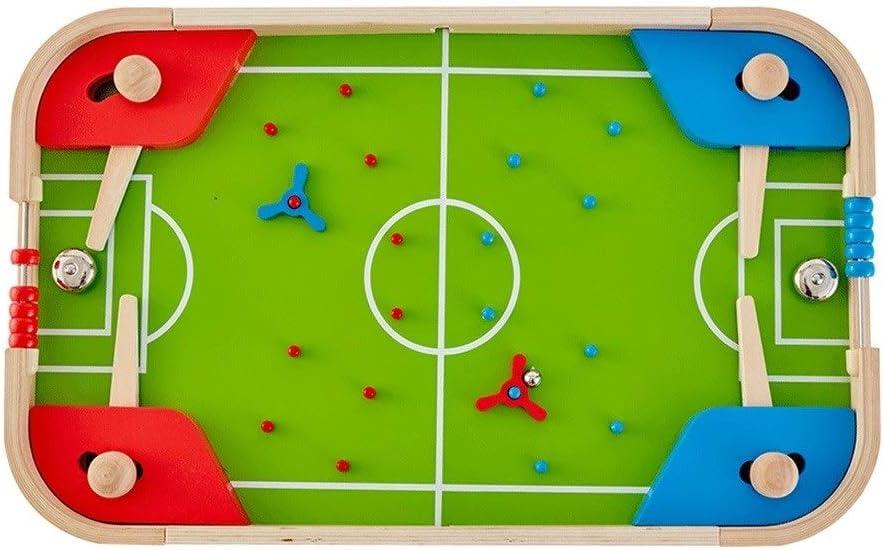 Futbolines Escritorio De Fútbol Mesa De Pinball Mesa De Juego De Fútbol Juguete De La Máquina Manual De La Tarjeta De La Máquina De Juego De Los Niños (Color : Green, Size :