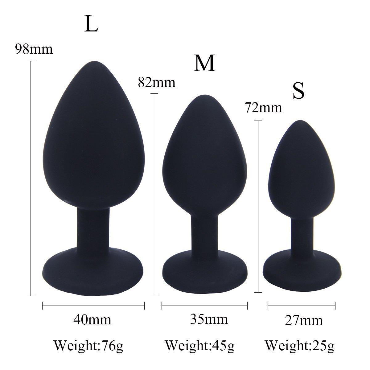 Kit dentra/înement pour d/ébutants en Silicone m/édical pour Homme sophko A-/ñ/àl Trainer Kit /Étanche Silicone /àn-al B ? TT Plug