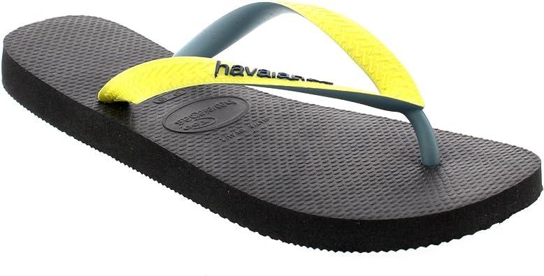 swim Summer Holiday uk junior 12 *HAVAIANAS* NEW blue red flip flops