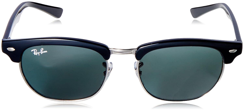 9421734650 Amazon.com  Ray-Ban Kids  0rj9050s100 7147junior Clubmaster Square  Sunglasses BLACK 47 mm  Clothing