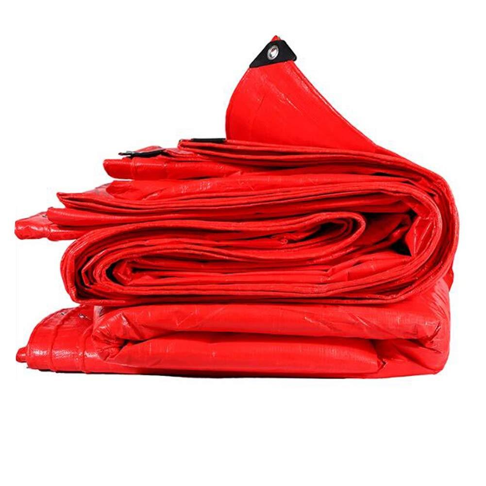 confortevole MuMa Telone Rosso Addensare Impermeabile Protezione Solare Solare Solare Impermeabile Ombra su Misura (colore   Red, Dimensioni   5  8m)  prendi l'ultimo