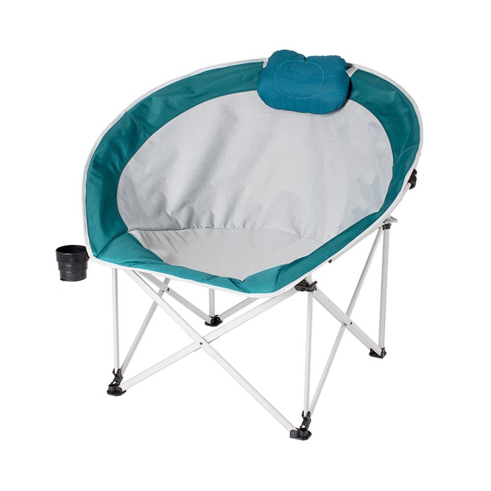 LE Portable/Klappstühle im Freien/Campingstühle/Komfortable/Moon Chair/mit/Tragetasche