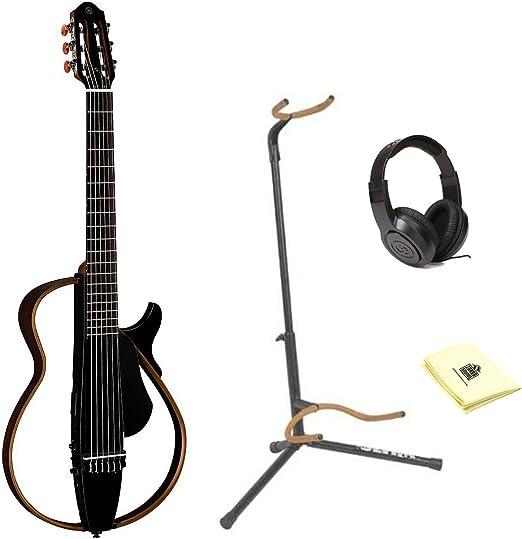 Una cuerda de nailon Yamaha SLG200 N Silent guitarra con Ultra ...