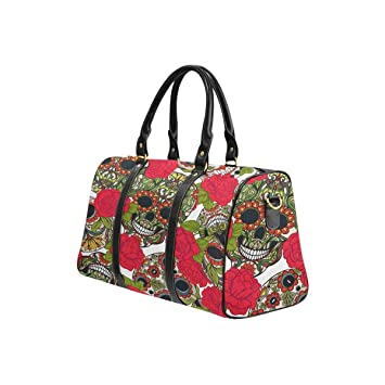 Sugar Floral Skull Weekender//Overnighter Bag