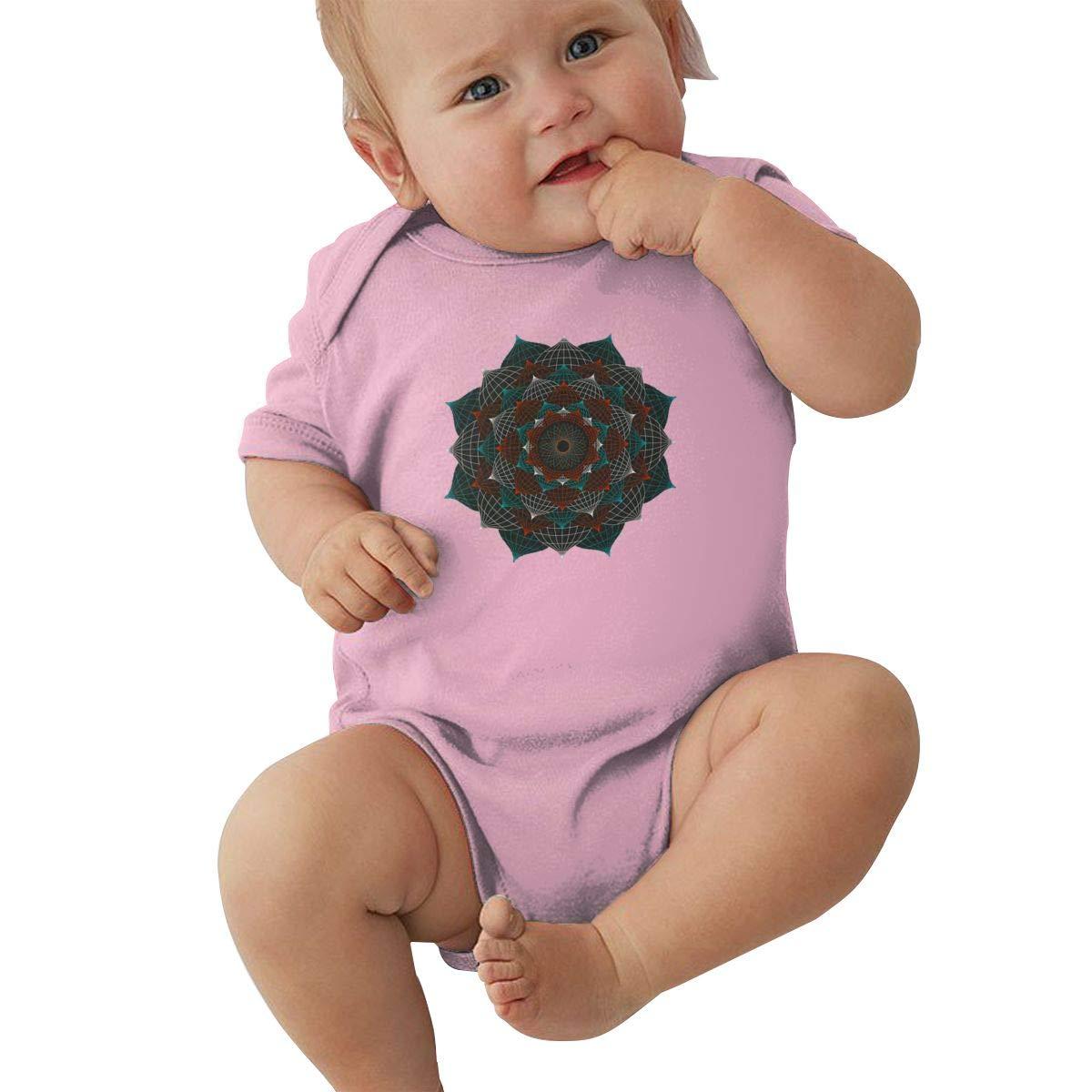 Mri-le2 Newborn Baby Short Sleeve Organic Bodysuits L.O.T.U.S Baby Clothes