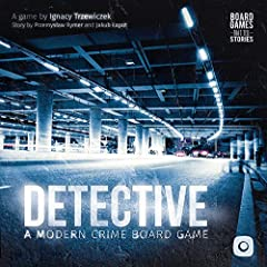 Detective is a modern crime board game, designed by przemysław Ryder and ignacy trzewiczek. Solve mysterious crimes and see if you would handle the job of a true detective in a modern setting! This is a true board game that tells stories, bec...